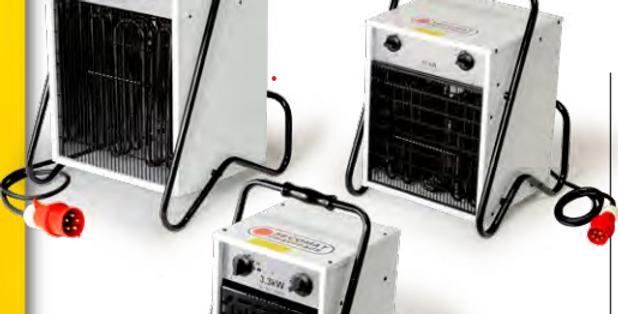 Génerateurs portable d'air chaud pulsé,pour chantiers,