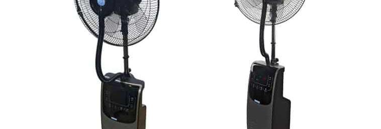 Ventilador de nebulización interior de 135 CM