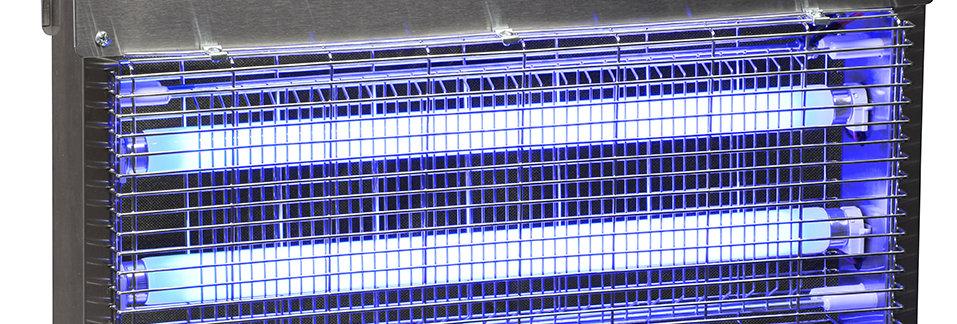 Destructor de insectos de rejilla electrificada de 40 W,