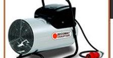 Generateur électrique d'air chaud pulsé, portable,