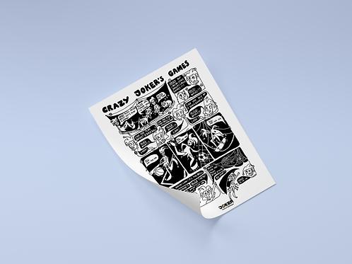 Komiks 03, Crazy Joker's Games