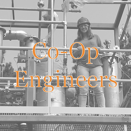 co-op engineers title for careers bandw