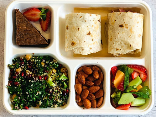 Lunch Wrap & Salad Bento box