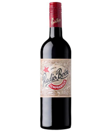 Red Bottle - Radio Boka Tempranillo Valencia Spain 2017