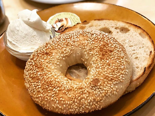Bagels by Brooklyn Boy Served with Pepe Saya butter