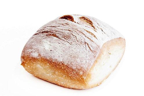 Ciabatta Dinner Bread Roll + Butter + Knife