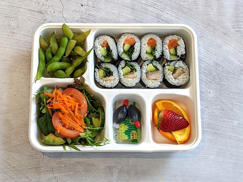 Lunch Sushi Bento box