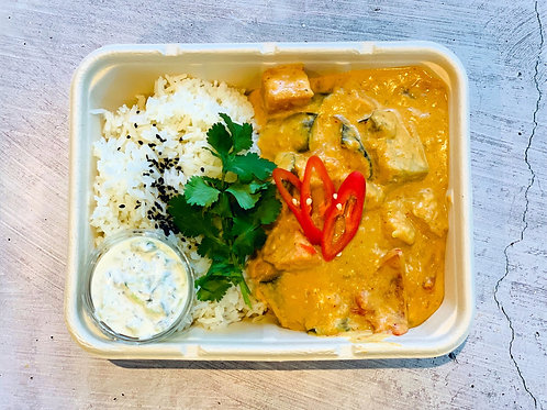 Staff Meals - Thai red curry & Rice