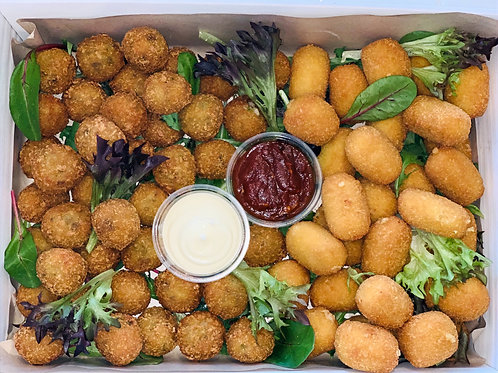 Pumpkin Arancini (Vegan Gluten free) Hot box (58 piece)