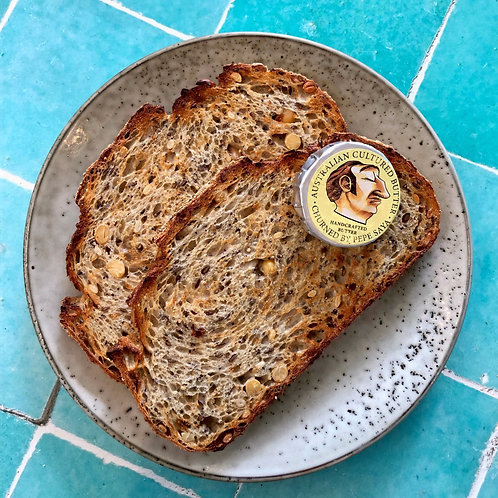 Sourdough toast + Pepe Saya Butter