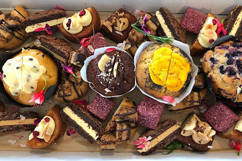 Assortment of Sweets, Cookies & Muffins