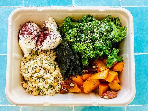 Staff Meals - Egg Macro Bowl