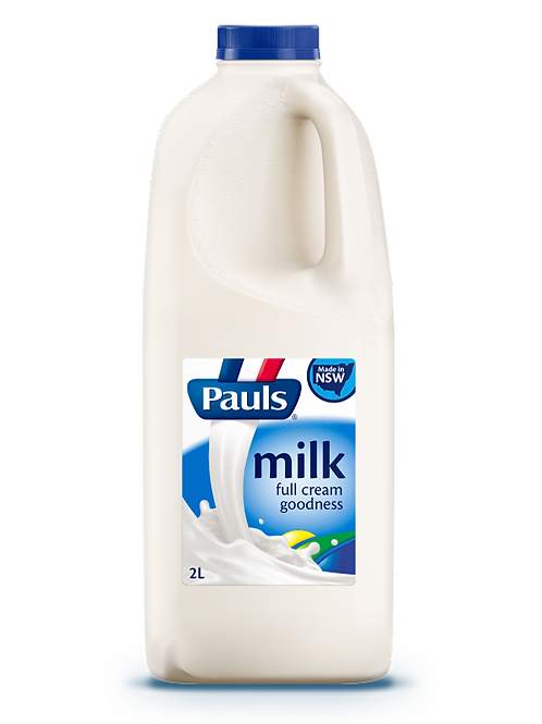 Milk Full Cream - 2L