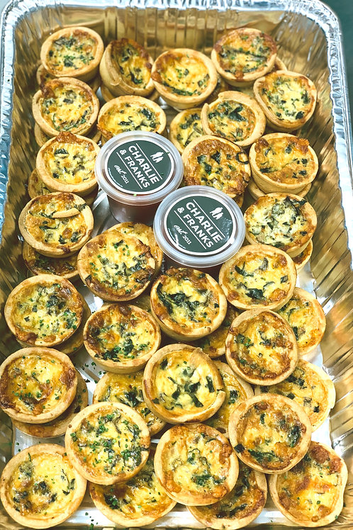 Assorted Cocktail Pies & Quiches