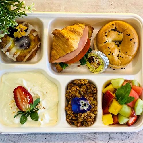 Breakfast Croissant Bento box