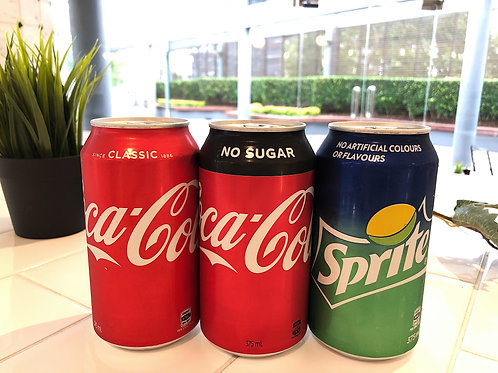 Soft Drinks can - 375ml