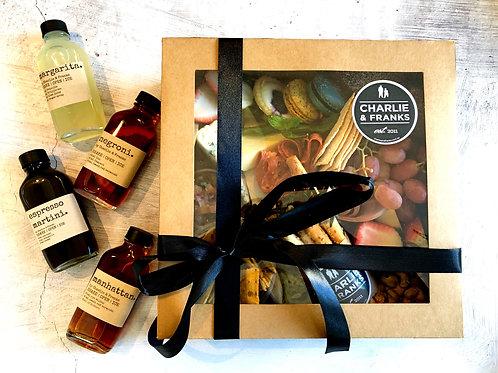 Premium Individual Graze box & Wine box