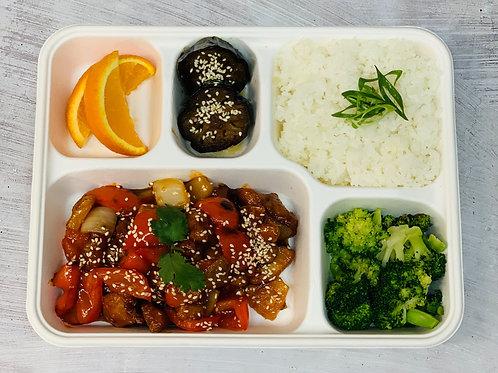 Lunch Sweet n Sour Chicken Bento box