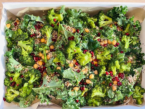 Vegan Detox Pomegranate & Kale Salad