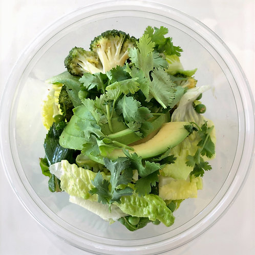 Vegan Greens Salad Power Bowl (750gm) Meal size