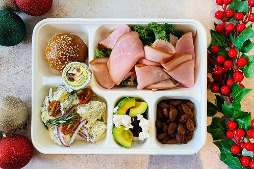 XMAS Lunch Maple Glazed Ham Bento Box