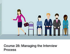 Twenty 20 Talent e-learning: Managing the Interview Process