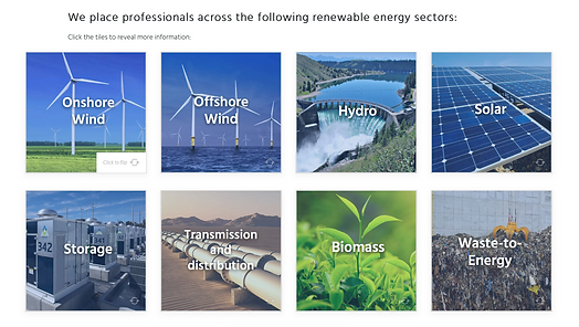 Twenty 20 Talent e-learning: renewable energy markets