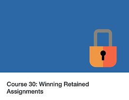 Twenty 20 Talent e-learning: Winning Retained Assignments
