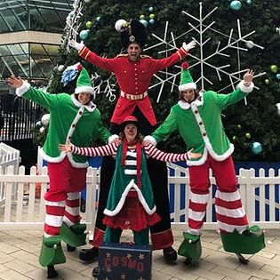 Holiday Clowning entertainment