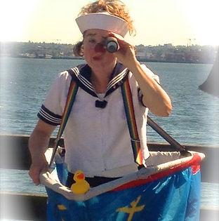 sailor clown adventurer