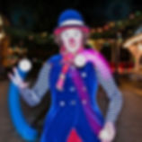 light up juggling photo