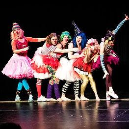 female clown entertainment