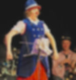 clown stage show