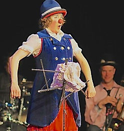 clown stage show