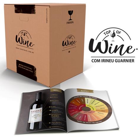Identidade Visual e material didático Top Of Wine