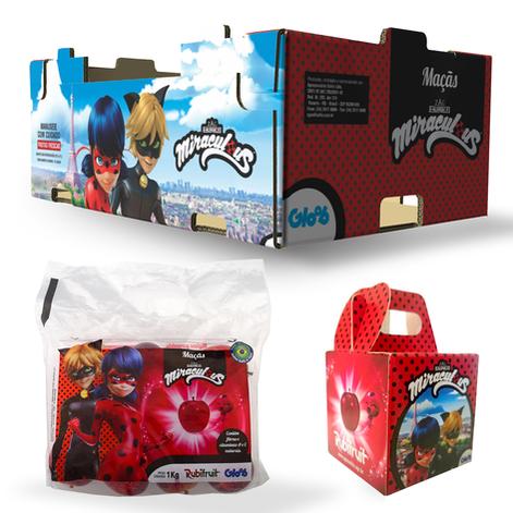 Embalagens produtos Miraculous
