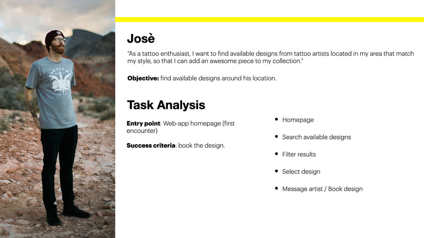 Task Analysis 2 - Josè