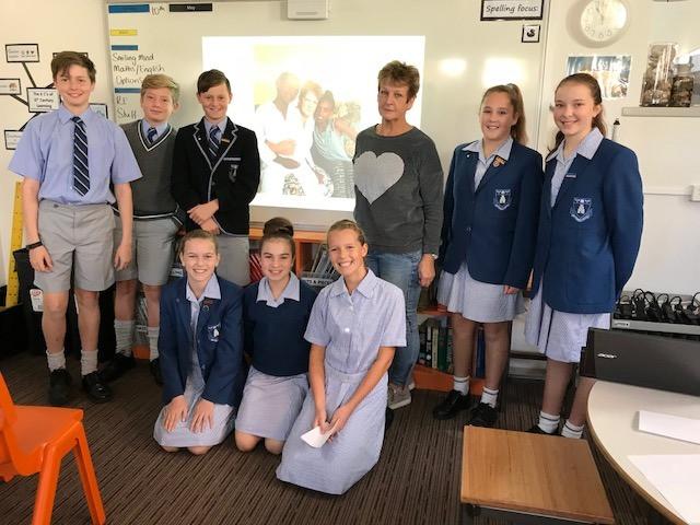 Leeanne & Grammar's Yr. 6 leaders