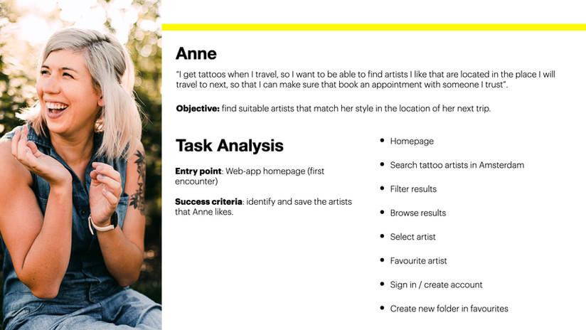 Task Analys 1 - Anne