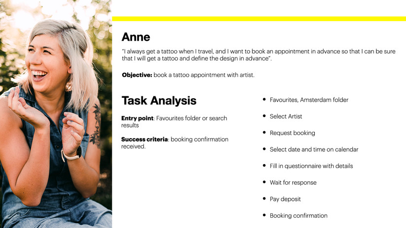 Task Analysis 3 - Anne