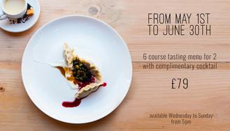 Tasting Menu May/June