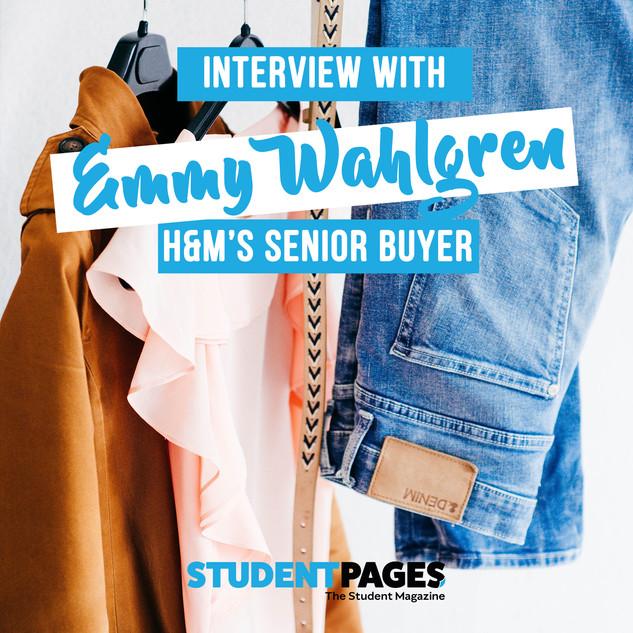 H&M Senior Buyer interview