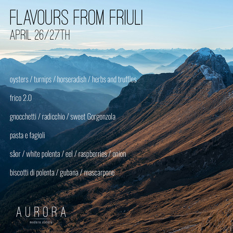 Flavours From Friuli Supper Club