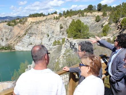 La Generalitat protegirà el Parc dels Talls de Vilobí incloent-lo en l'inventari de zones humides de