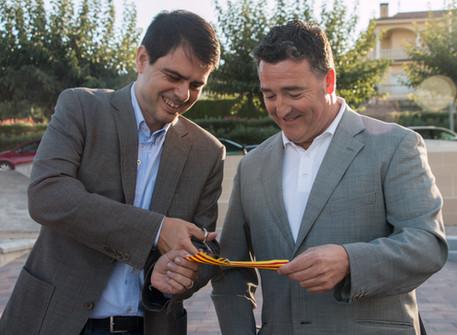 Vilobí inaugura la nova plaça de la Vila
