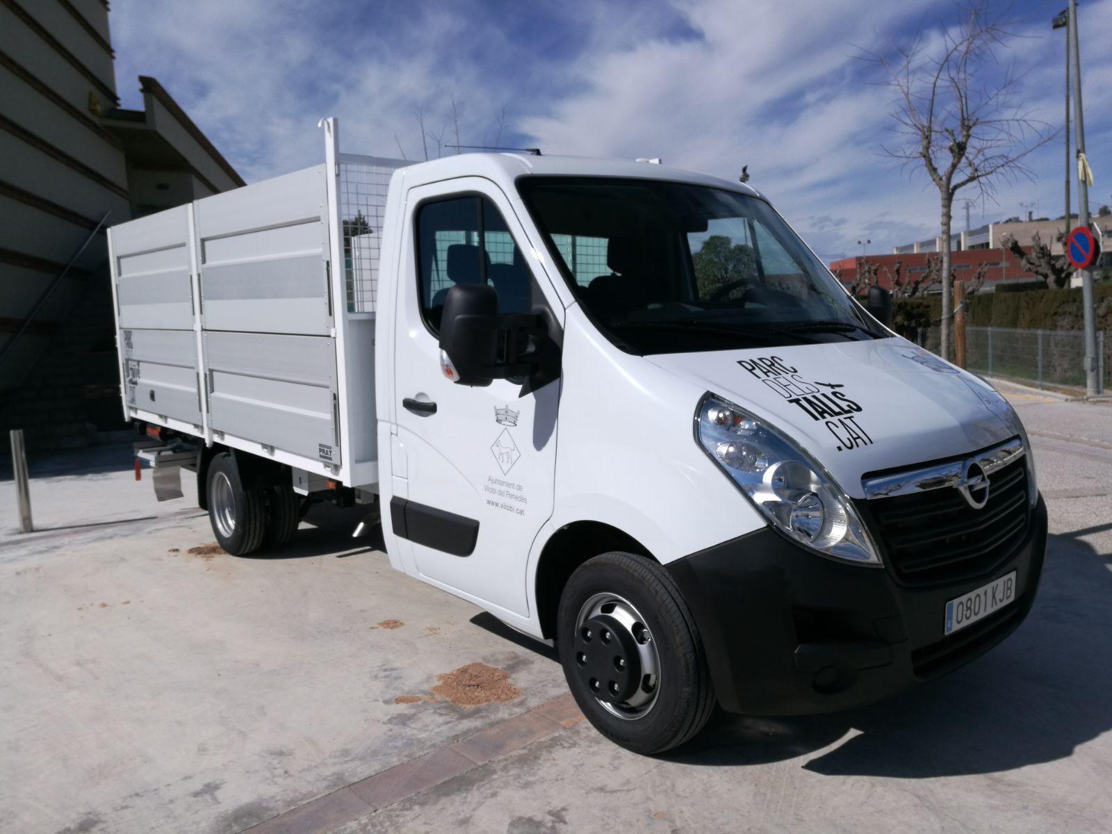 Nou camió municipal 3