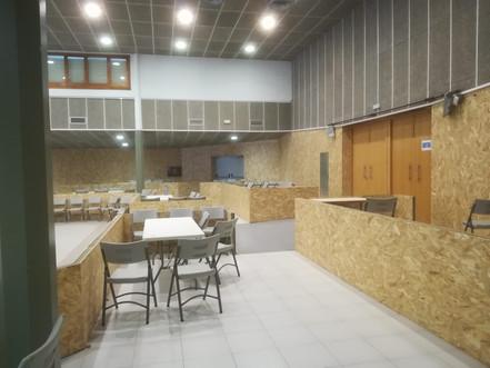 La sala del Centre Cívic, renovada