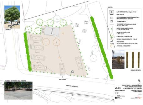 Avança el projecte de l'àrea d'autocaravanes a Vilobí