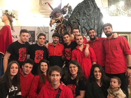 Els Diables de Vilobí, a Barcelona!