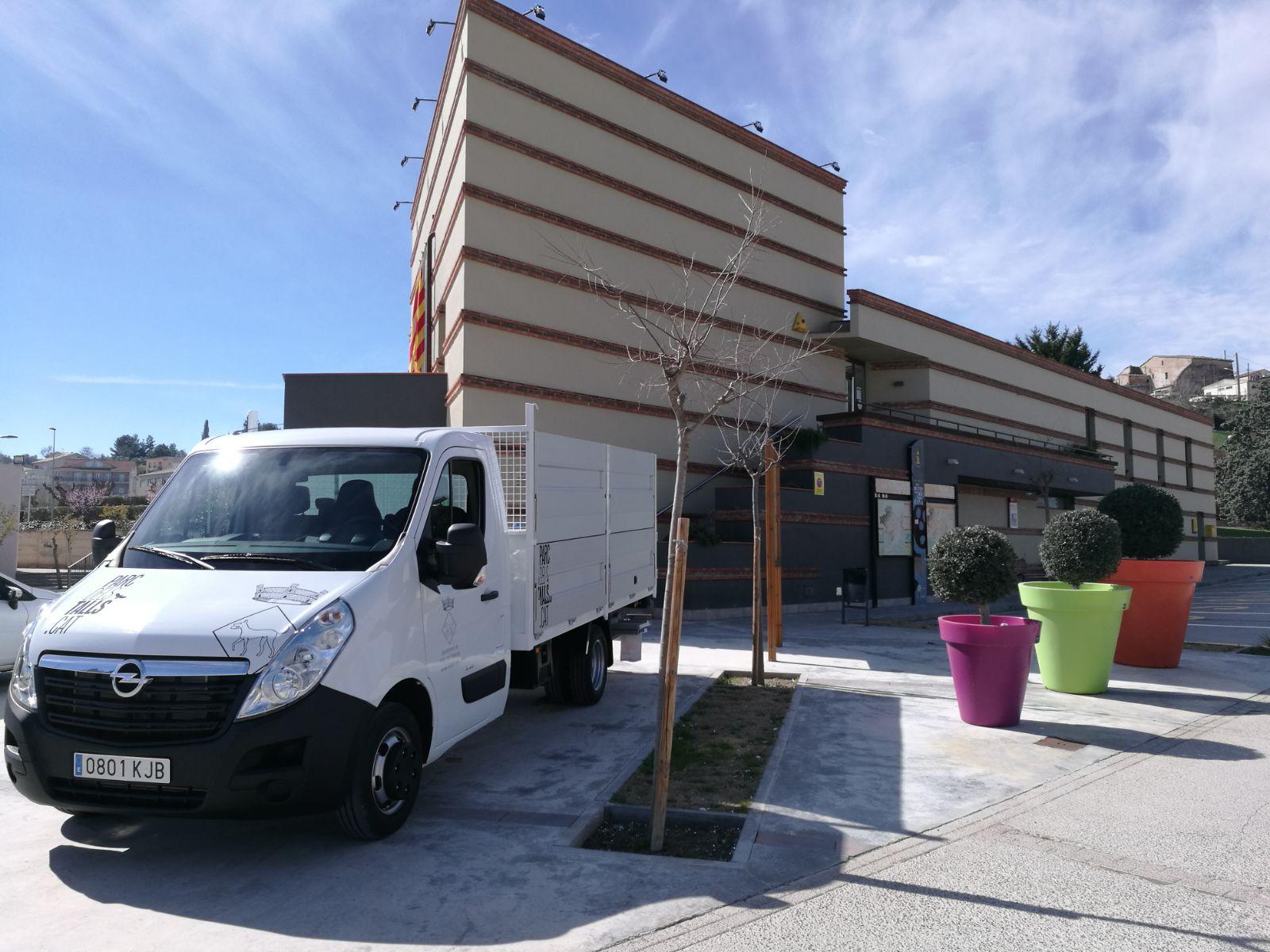 Nou camió municipal 2